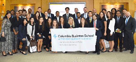 """""""الهلال للمشاريع"""" تستضيف وفداً من طلبة كلية كولومبيا للأعمال"""
