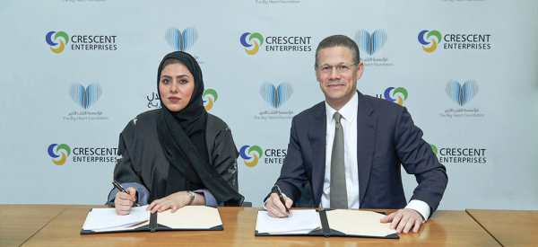 Crescent Enterprises Partners with The Big Heart Foundation to Support Refugees