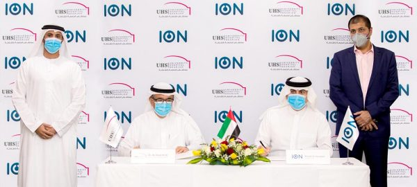 ION Partners with University Hospital Sharjah To Provide Sustainable  Logistical Solutions