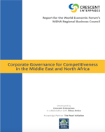 Corporate Governance for Competitiveness in MENA