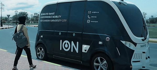 ION completes successful trial of electric autonomous shuttles at Sharjah University City