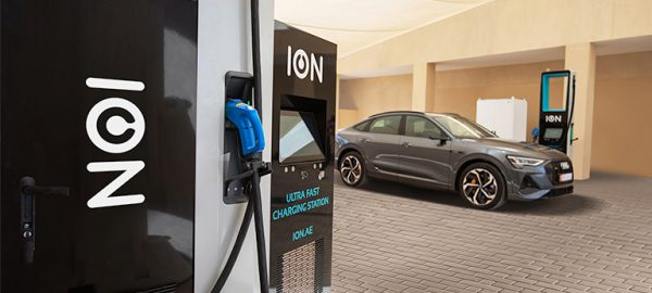 ION Installs Gulf Region's First Ultra-fast Electric Vehicle Charging Stations in Abu Dhabi